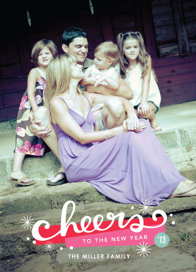 new year's cards - New Years Cheers by Kristen Smith