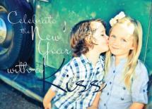 Kiss the New Year by Alejandra Urbina