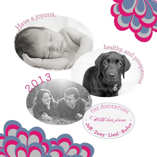 new year's cards - Make it Mod by Jen Merrill
