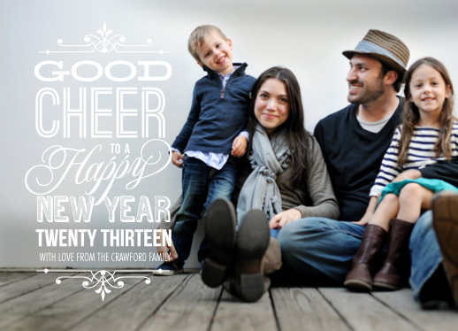new year's cards - Good Cheer by Coco and Ellie Design