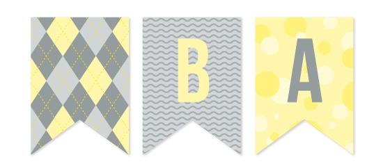 party decor - Preppy Baby Shower by Emily - Fresh Paper Studios