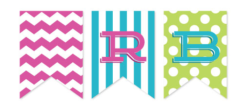 party decor - Bold & Bright by Katherine