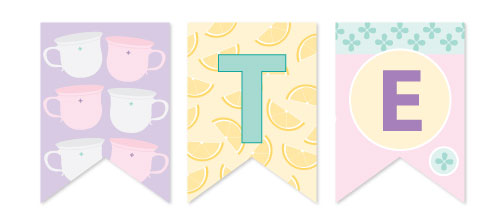 party decor - Tea With Lemons by Blushing Princess