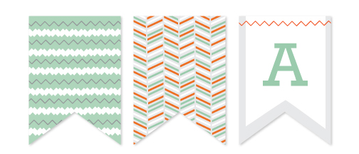 party decor - Chevron Soiree by Monica Schafer