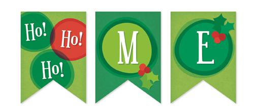 party decor - ho ho ho! by Traci Marquis