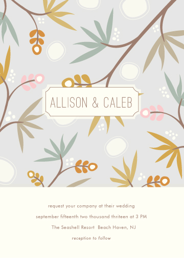 wedding invitations - Tropics by Stacey Meacham