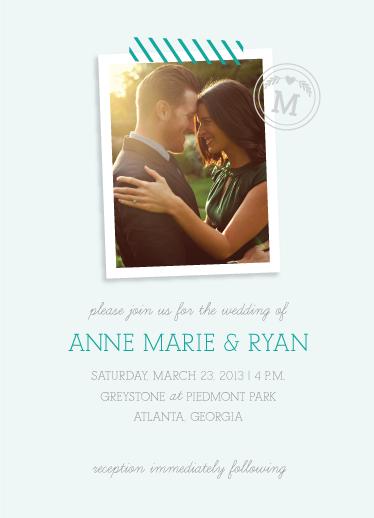 wedding invitations - Snapped & Sealed by Caroline Szpak