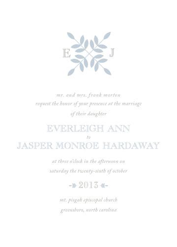 wedding invitations - Quilt Motif by Ashley Porter