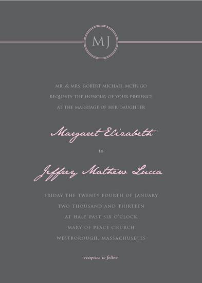 wedding invitations - Sweet Affair by Ana Gonzalez