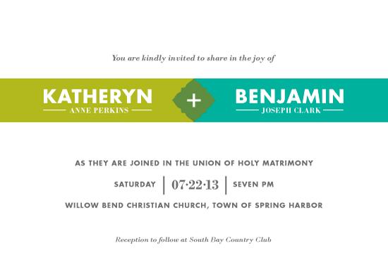 wedding invitations - United by Kimberly Morgan