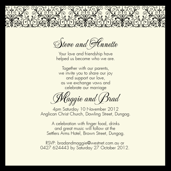 wedding invitations - JewelsOfElegance by digijewels