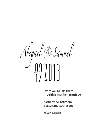 wedding invitations - Strictly Ballroom by Smitzdesign