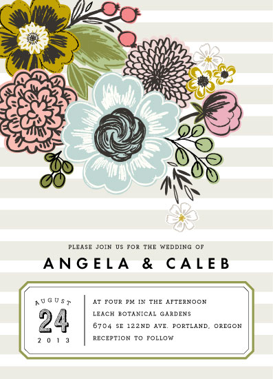 wedding invitations - Seed Packet by Alethea and Ruth