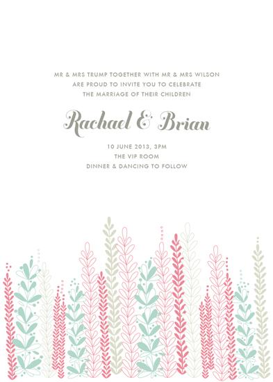 wedding invitations - Whispers of Love by Phrosne Ras