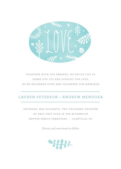 wedding invitations - Sweet Love by Olivia Raufman