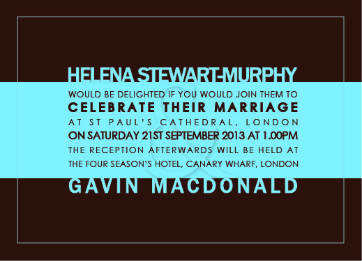 wedding invitations - font-suite by Adejoke Adedeji