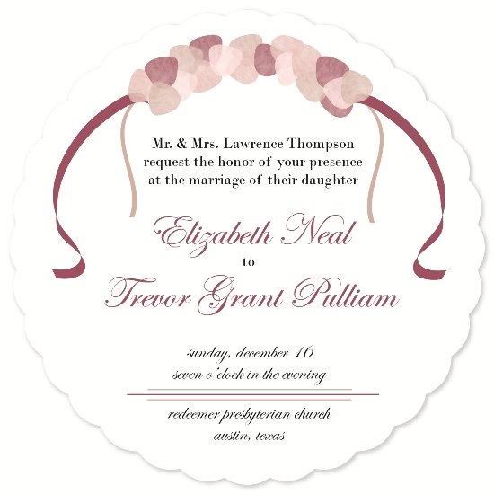 wedding invitations - Floral Crown by Kellee Usher