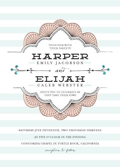 wedding invitations - sweet nothings by Frooted Design