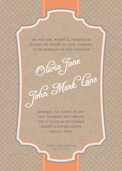 wedding invitations - Vintage Luxe by Kaydi Bishop