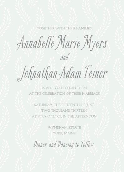 wedding invitations - Wheatfield by Katharine Watson