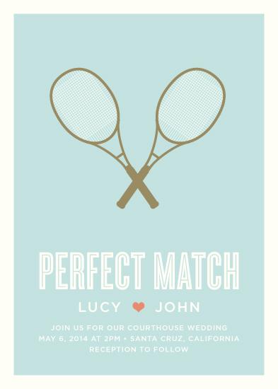 wedding invitations - Perfect Match by Waui Design