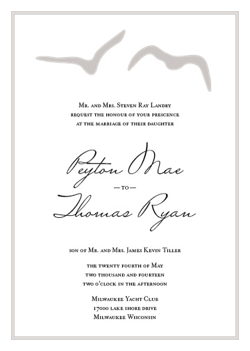 wedding invitations - Love-ly Birds by Haley King
