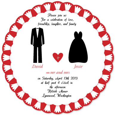 wedding invitations - Celebration of Love by Pirediba Parameswaran
