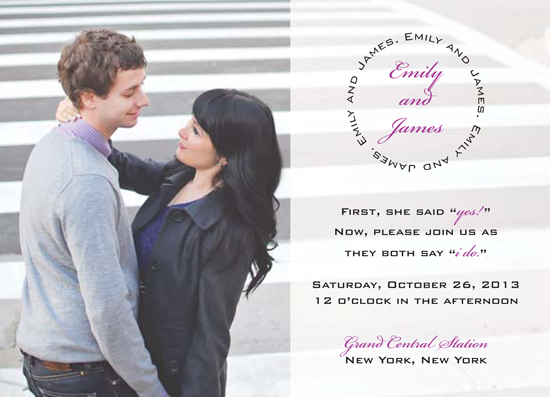 wedding invitations - In The City by NoOrdinaryJane