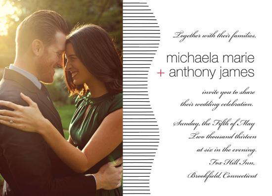 wedding invitations - Line Art by NoOrdinaryJane
