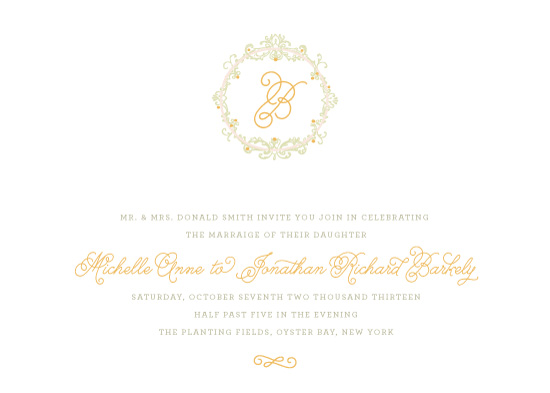 wedding invitations - Vine Knot by Sincerely Jackie