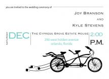 Bicycle Built for Two by Erica Coe and Ashley Swander