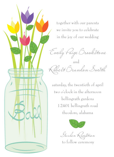 wedding invitations - Southern Charm by Summer Smith