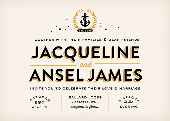 wedding invitations - Ballard by Trista Sydloski-Tesch