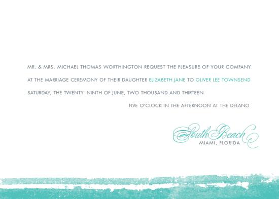 wedding invitations - Beach Chic by Oscar & Emma