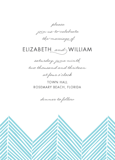 wedding invitations - Two By Sea by Abby Munn