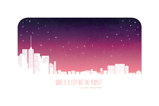 art prints - What is a City? by Katherine Morgan