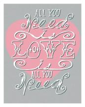 All You Need Art Print by Breia Mallett