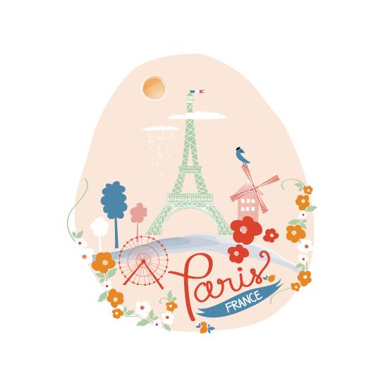 art prints - J'Adore Paris by Kayla King