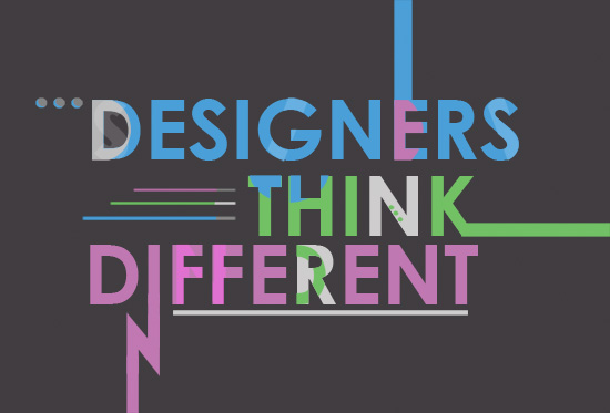 art prints - Designers Think Different by Aubrie Pegs