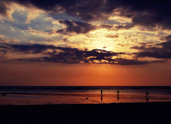 art prints - Sunset in Bali by Jennifer Fuller