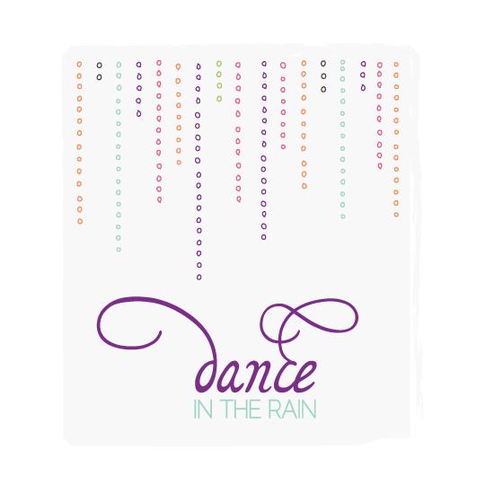 art prints - Rain Drops Dance by Mint and Merit