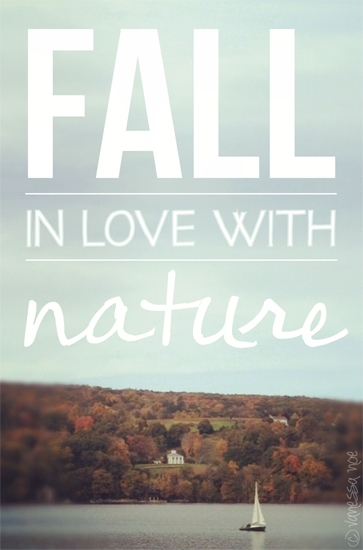art prints - Fall In Love With Nature by Vanessa Noe