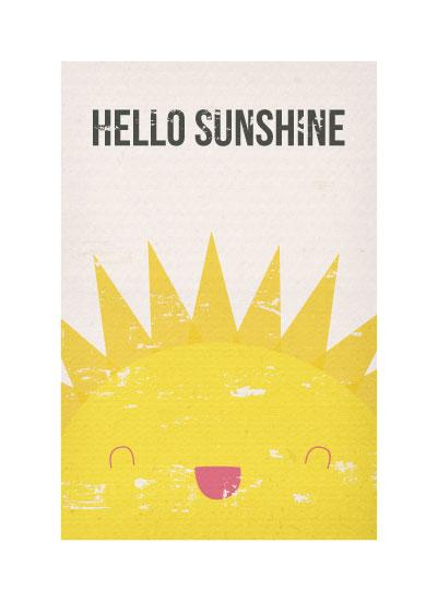 art prints - Hello Sunshine by Kelsey Clanton