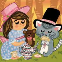 Tea Party For Two by Lala Watkins