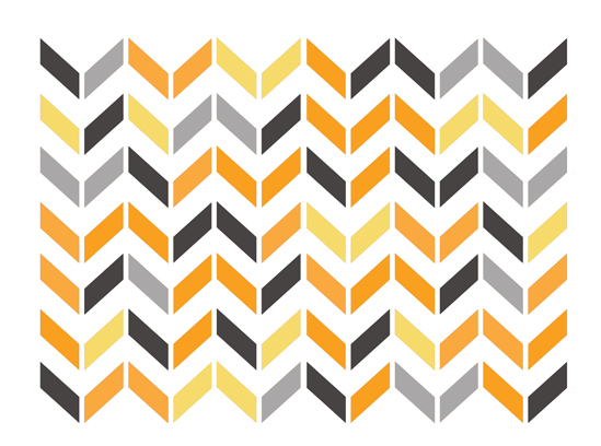 art prints - Broken Chevron Print by Sharise Williams