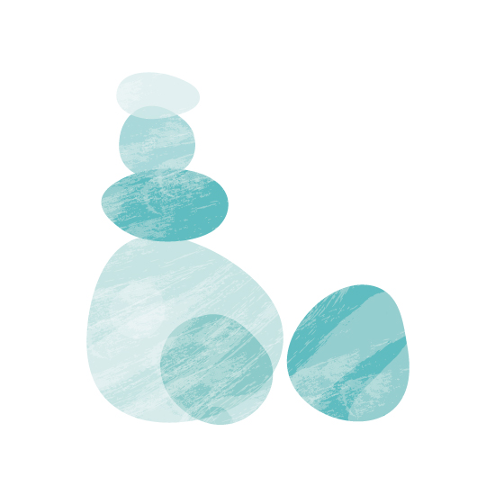 art prints - Tumbled Stones by Becky Nimoy