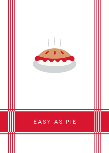 art prints - Easy as pie by Stacey Meacham