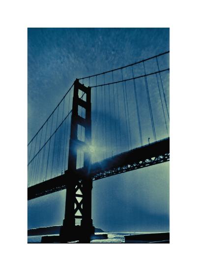 art prints - San Francisco Blue by Kitty Seeber