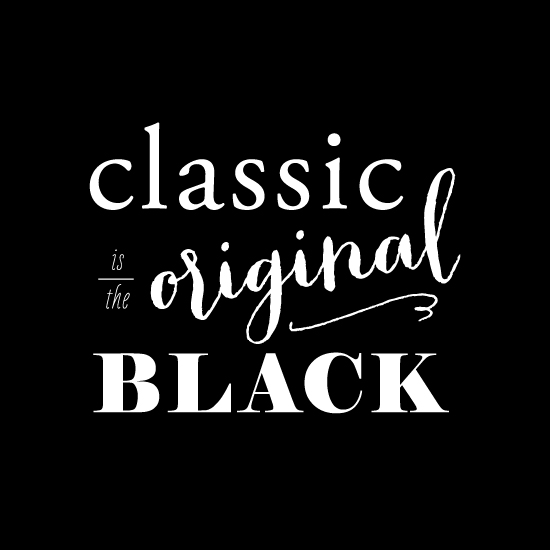 art prints - the Original Black by Chelsey Emery