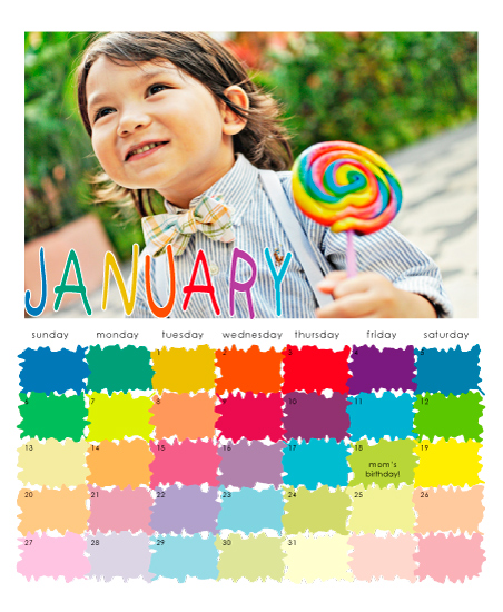 calendars - A colorful year ahead by Adejoke Adedeji